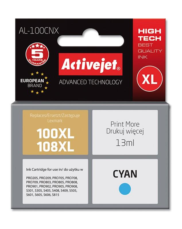 Cartus Compatibil Ac-100xl Ac-108xl Pentru Lexmark 14n1069e Cyan