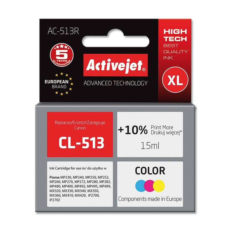 Cartus compatibil AC-CL513 pentru imprimante Canon