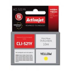 Cartus compatibil AC-CLI-521 Yellow Canon CLI521Y