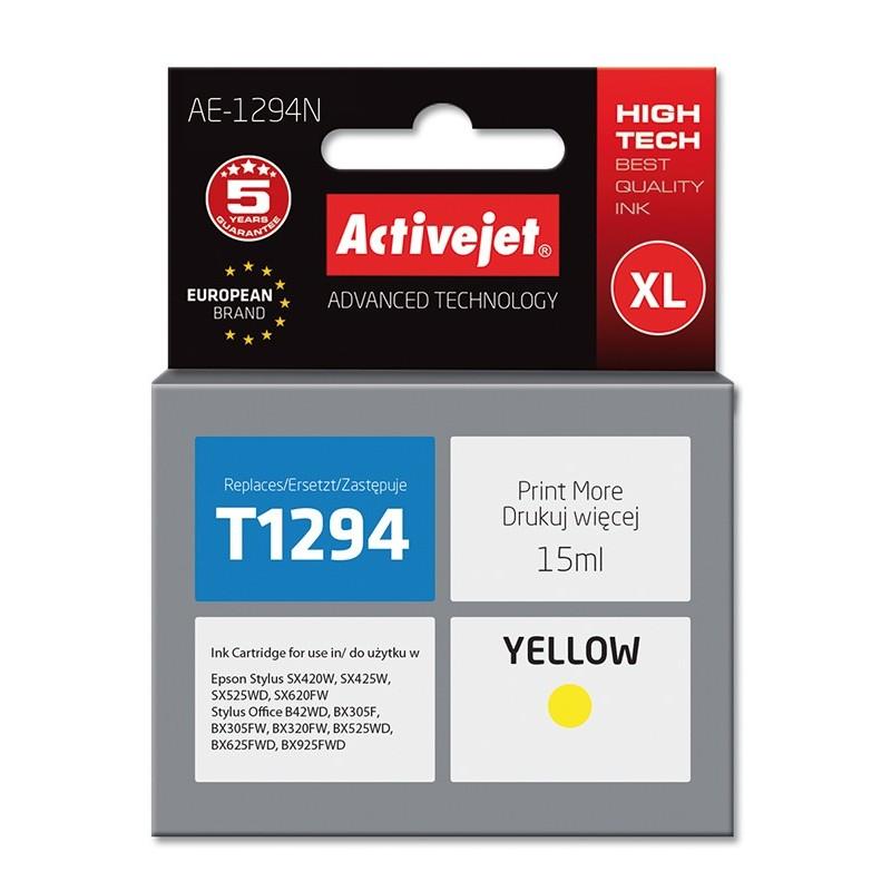 Cartus compatibil AC-T1294 yellow Epson C13T12944010