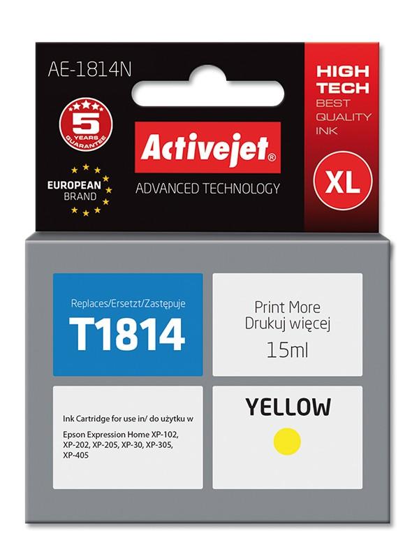 Cartus Ac-t1814 Yellow Compatibil Epson C13t18144010