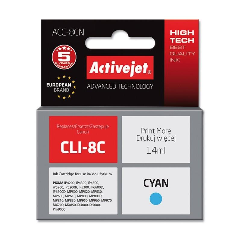 Cartus compatibil pentru Canon AC-CLI-8C Cyan