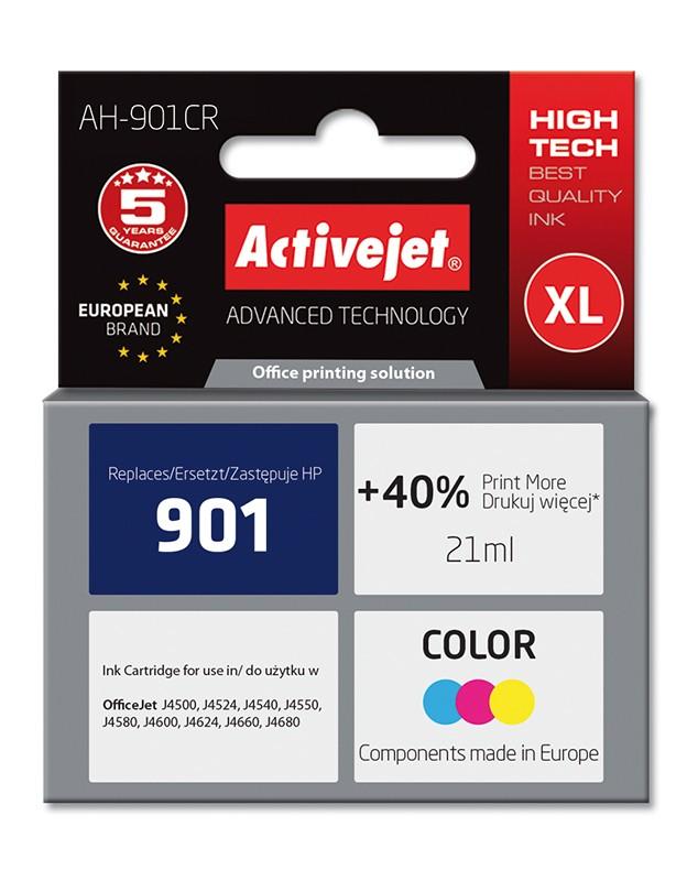 Cartus Compatibil Ac-hp-901 Ac-cc656 Xl Color Pentru Hp