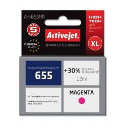 Cartus compatibil HP 655XL magenta pentru HP CZ111AE, Premium Activejet, Garantie 5 ani
