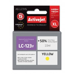 Cartus AC-LC123 yellow compatibil Brother LC-123Y