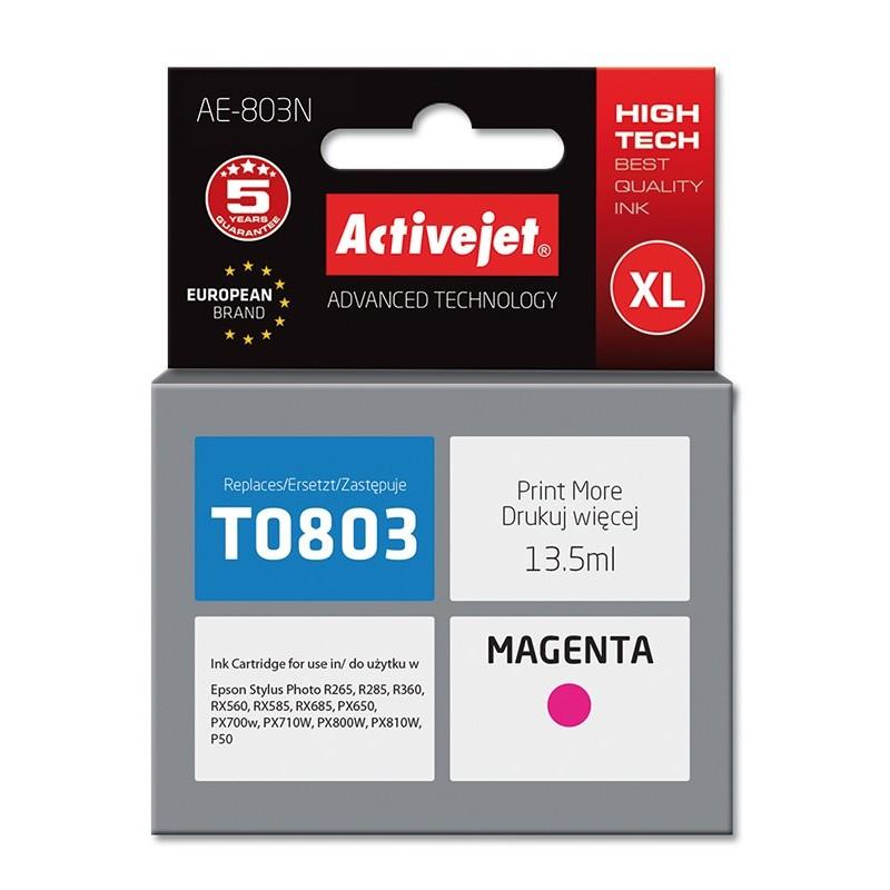 Cartus compatibil AC-T0803 magenta Epson C13T08034010