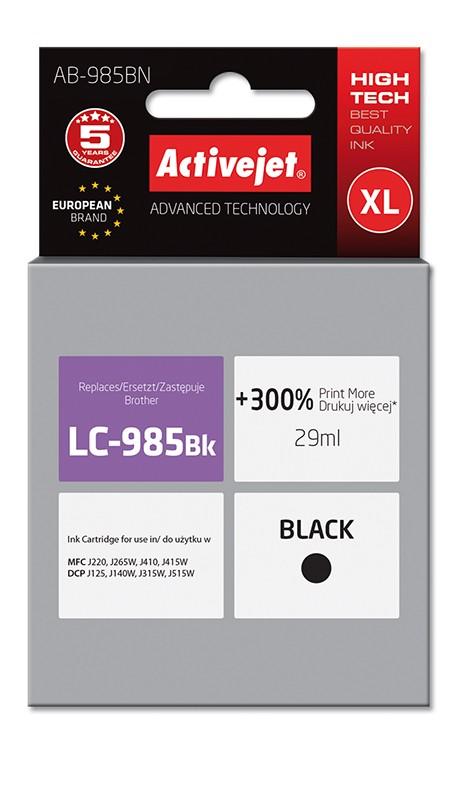 Cartus Compatibil Pentru Brother Lc 985bk Xl Black