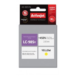 Cartus compatibil pentru Brother LC 985Y XL yellow