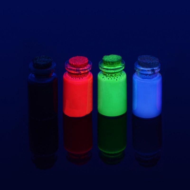 Cerneala fluorescenta vizibila inkjet pentru Epson, set 4 culori