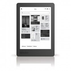 Ebook Kobo Aura reader, ecran 6 inch Carta E Ink touch, Negru