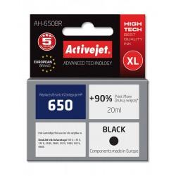 Cartus compatibi HP 650 negru pentru HP, 20 ml, Premium Activejet, Garantie 5 ani