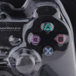 Gamepad Esperanza Z cu USB pentru PC, PS2, PS3