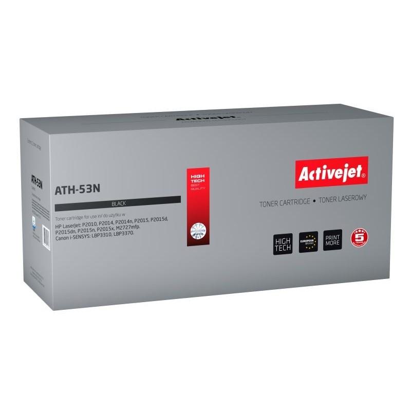 Toner compatiil AC-Q7553A Black pentru HP