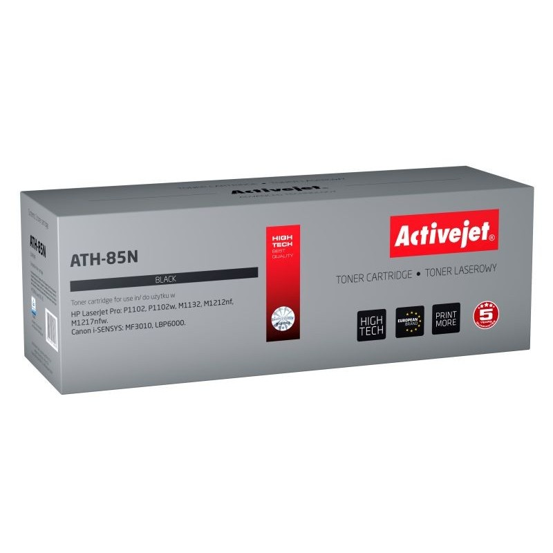 Toner compatibil AC-CE285A Black pentru HP