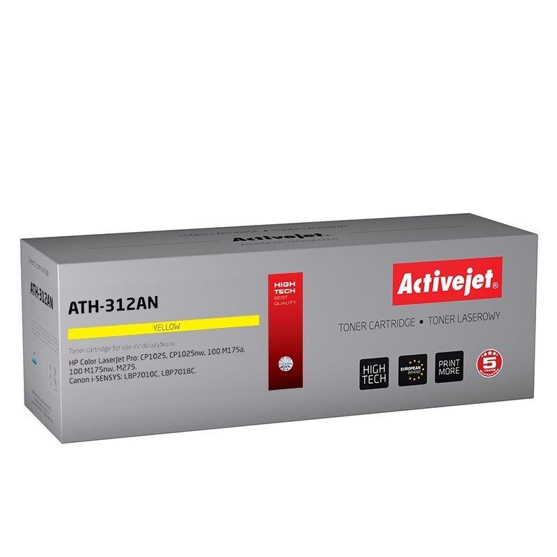 Toner compatibil AC-CE 312A yellow pentru HP