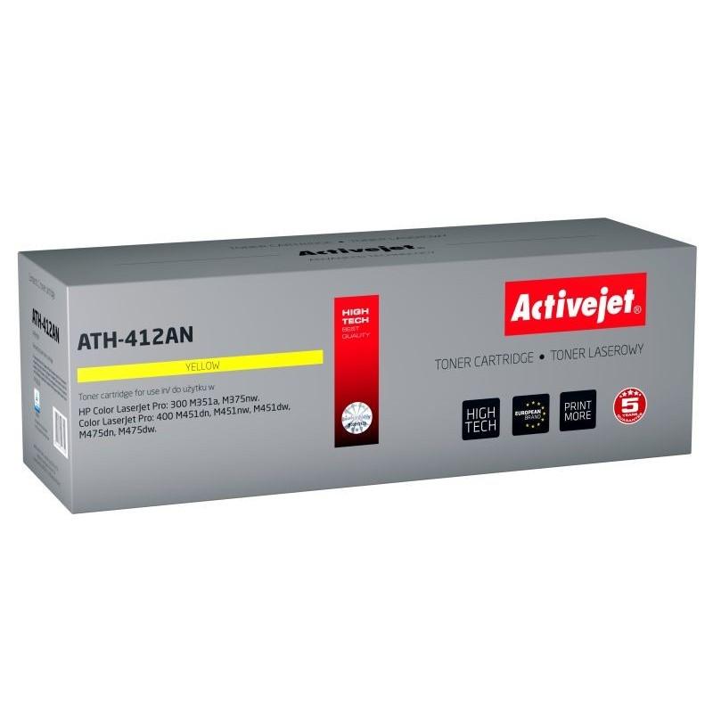 Toner compatibil CE412A Yellow HP 305A