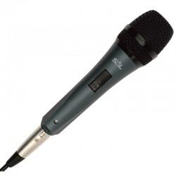 Microfon de mana, metalic, Jack 6.3 mm XLR, SAL M 8