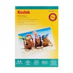 Hartie FOTO Kodak A4 180g High Glossy 20 coli