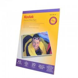 HARTIE FOTO Premium 230G KODAK A3 GLOSSY 20 COLI