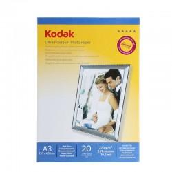 Hartie foto Ultra Premium 270G Kodak A3 Glossy 20 coli