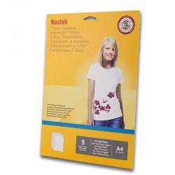 Hartie transfer termic A4 pentru textile albe