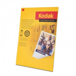 Canvas Kodak, stick up reaplicabil pe suprafete plane, A4, 255g, 10 coli