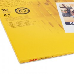 Canvas Kodak, stick up reaplicabil pe suprafete plane, A4, 255g, 10 coli