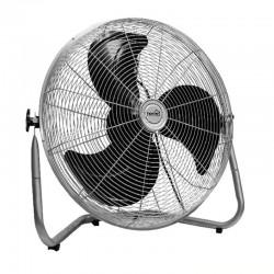 Ventilator de podea, putere 100W, cromat, 3 viteze, Home