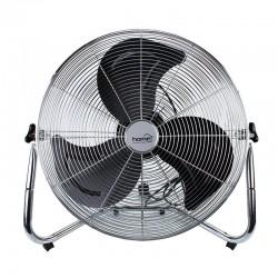 Ventilator de podea, putere 120W, diametru palete 50 cm, argintiu, Home