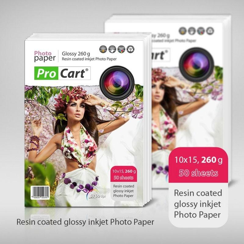 Hartie FOTOGRAFICA RC High Glossy 10x15 260g
