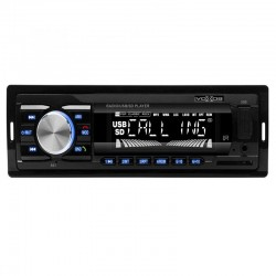 Radio MP3 Player, 18 posturi FM, Bluetooth, afisaj ora, Sal