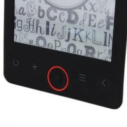 eBook Reader, display 6 inch eInk, 4 GB, microSD, slim, negru, Metek