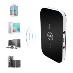 Transmitator si receptor Bluetooth, acumulator incorporat, Sal