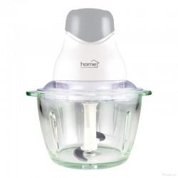 Tocator cu bol de sticla, 320W, 75dB, cutite otel inoxidabil, Home