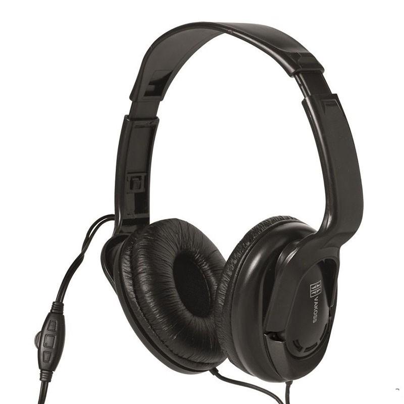 Căşti stereo cu potenţiometru, cablu 5 m