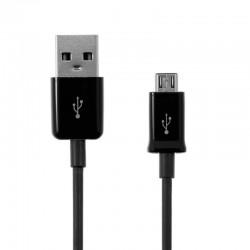 Cablu transfer date microUSB, lungime 90 cm, negru