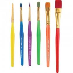 Set 6 pensule pentru pictura Artberry