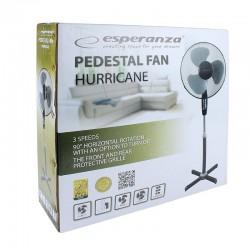 Ventilator cu stativ, 50W, 3 viteze, diametru 40cm, Esperanza Hurricane