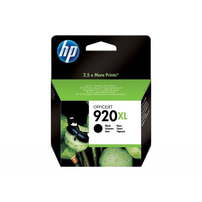Cartus original HP920XL Black pentru HP CD975AE, de capacitate mare