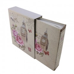 Album foto London Rose, 10x15, 100 poze, husa cartonate