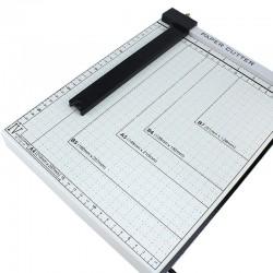 Ghilotina manuala A4 de birou, marcaj format hartie