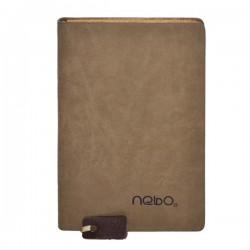 Agenda A7 nedatata, 100 file, piele ecologica, Nebo A72
