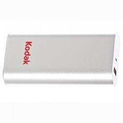 Powerbank Kodak 5200 mAh, USB, microUSB, smartphone si tableta, argintiu