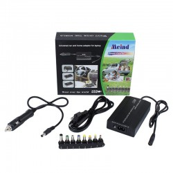 Incarcator universal laptop, casa si masina, 120W, 8 conectori
