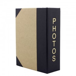 Album foto Photos, 100 poze, 10x15 cm, 50 file albe, carton rigid