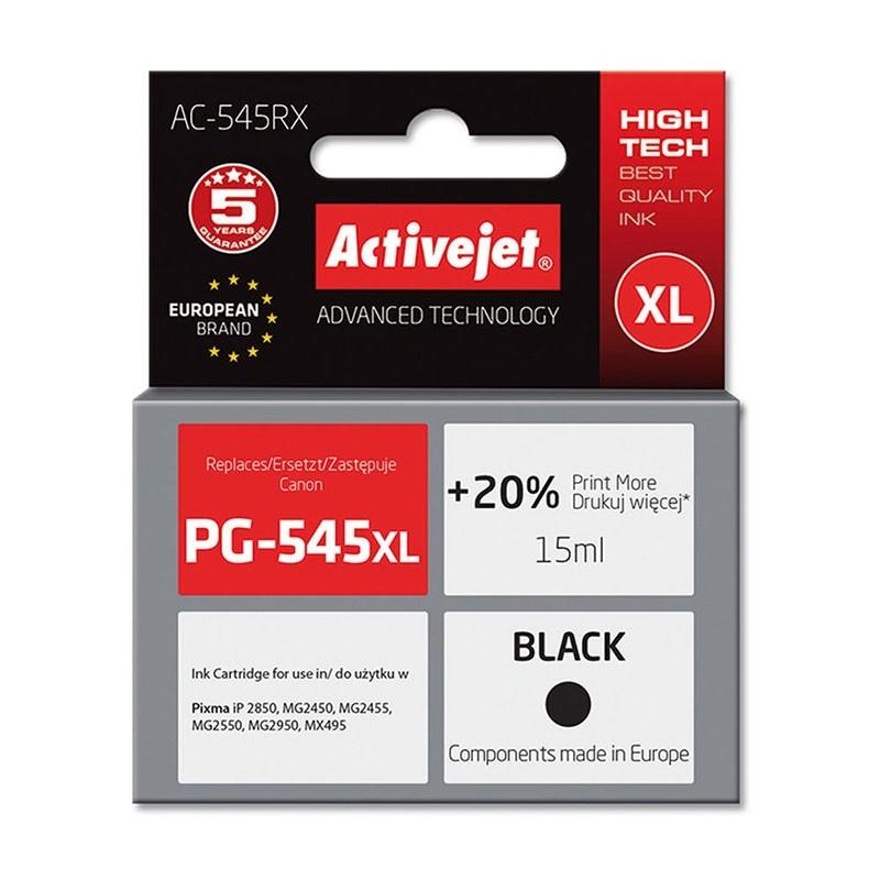 Cartus compatibil PG-545XL Canon, 15ml, Black, Premium Activejet, Garantie 5 ani