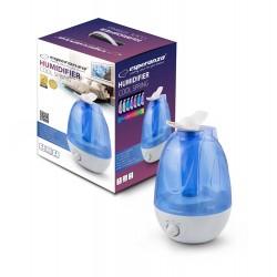 Umidificator aer, rezervor 3.5 l, lampa veghe 7 culori, Esperanza