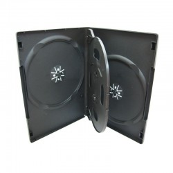 Carcasa plastic pentru 4 DVD-uri