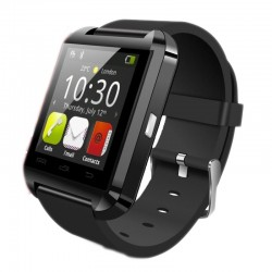 Ceas smartwatch, bluetooth, 11 functii, handsfree, SoVogue, negru