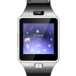 Ceas smart bluetooth 3.0, slot SIM, TF, 13 functii, Android 4.3, SoVogue, negru